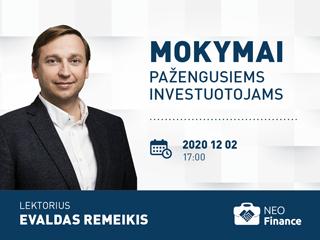 Gruodžio 2 d. seminaras pažengusiems investuotojams - II dalis
