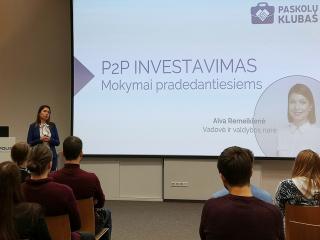 Vasario 20d. seminaras pradedantiems investuotojams. Kaip įdarbinti pinigus investuojant į P2P paskolas?